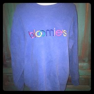 Vintage Bloomies Bloomingdales Sweatshirt XL